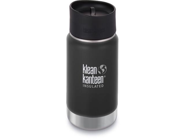 Klean Kanteen Wide Vacuum Insulated Bottle Café Cap 2.0 355ml, shale black matt